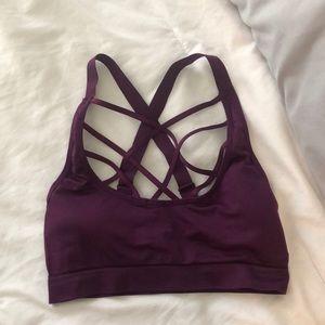 Purple Victoria secret sport sports bra